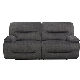 Liev Reclining Sofa Red Barrel Studio