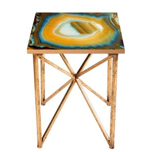 Or Agate End Table