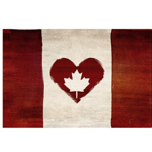 1ff022bc734 Canadian Flag Pride  My Canadian Love  Graphic Art on Wrapped Canvas