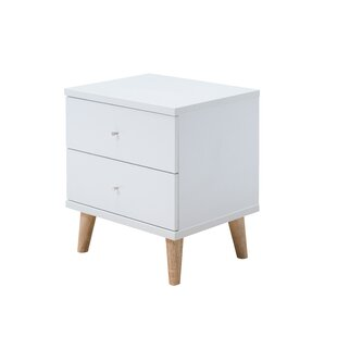 Bowles 2 Drawer Nightstand