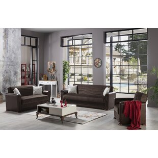Compare prices Harlee 3 Piece Living Room Set by Brayden Studio Reviews (2019) & Buyer's Guide
