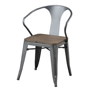 Marilee Metal Wooden Counter Height Dining Chair (Set of 4) by Williston Forge