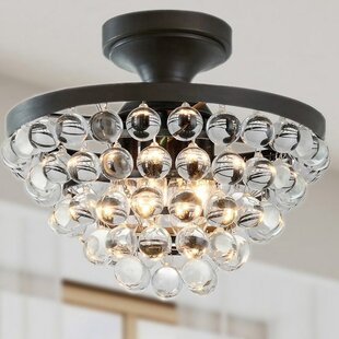 West Town 4-Light Semi Flush Mount by Gracie Oaks