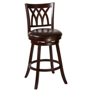 Tateswood 26 Swivel Bar Stool with Cushion