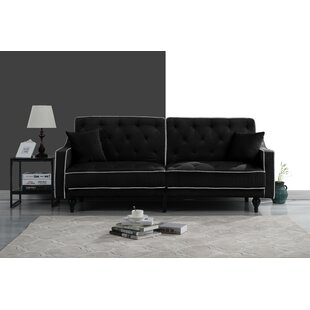 Affordable Hypes Mid Century Convertible Sofa by House of Hampton Reviews (2019) & Buyer's Guide