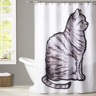 Aldaco English Short Hair Single Shower Curtain