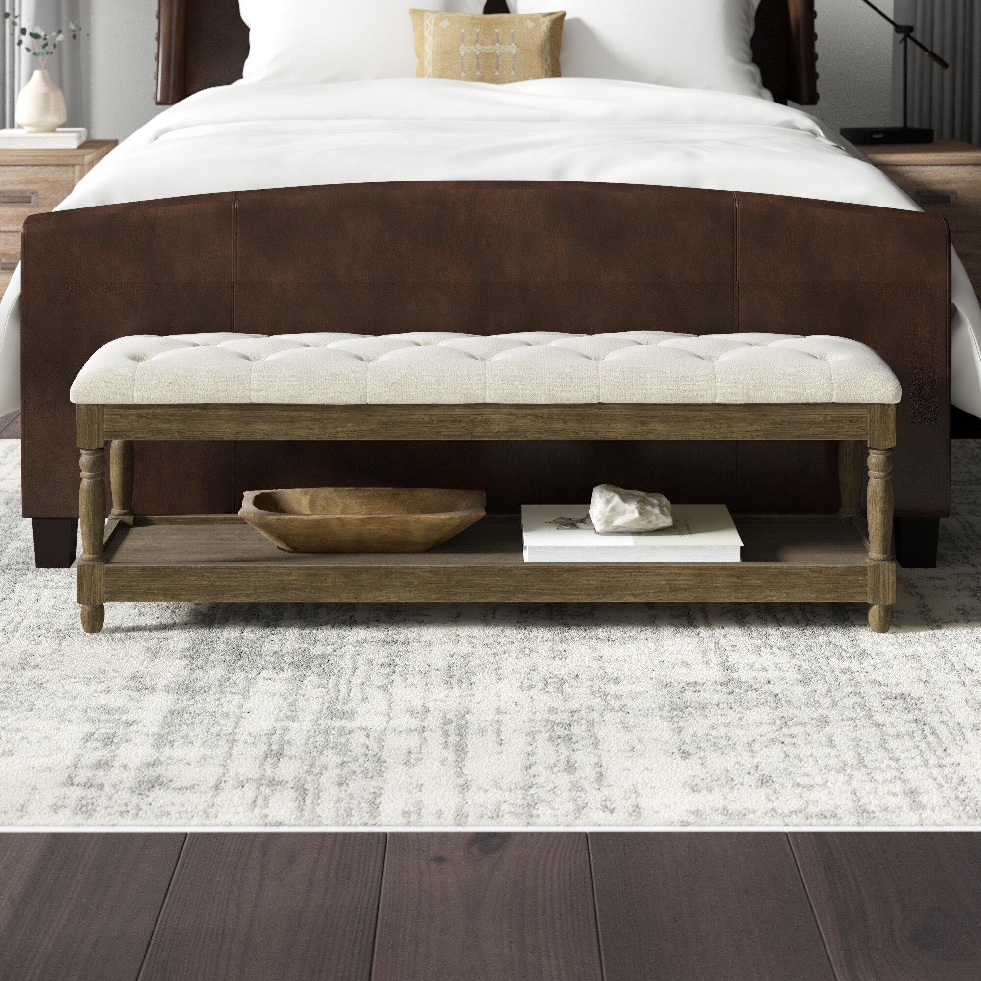 Greyleigh Brodnax Upholstered Storage Bench Reviews Wayfair