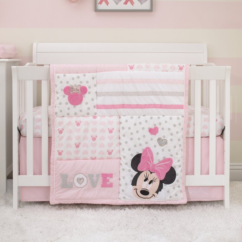 NEW HELLO KITTY CRIB ` COT` COTBED` BUMPER  SET  AND MORE