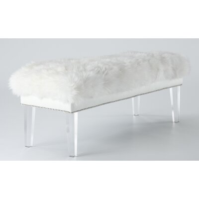 Modern Amp Contemporary Clear Acrylic Bench Allmodern