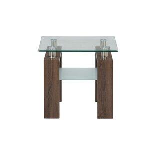 Heiden End Table by Wrought Studio No Copoun