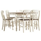 Heidi 7 Piece Counter Height Dining Set by Alcott Hill®