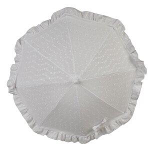 Broderie Anglaise 0.7m Parasol By Clair De Lune