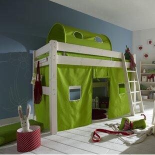 Dahlgreen European Single Mid Sleeper Bed By Zoomie Kids