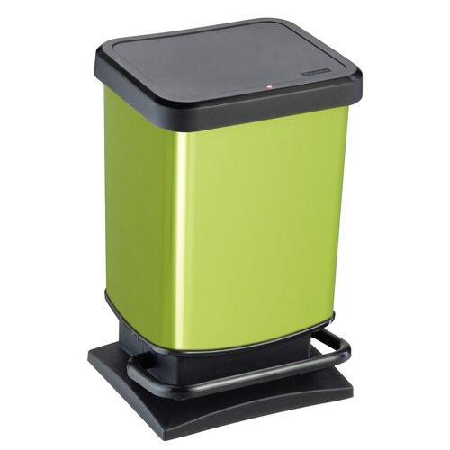 20 L Mülleimer Paso | Küche und Esszimmer > Küchen-Zubehör | Grün | Rotho