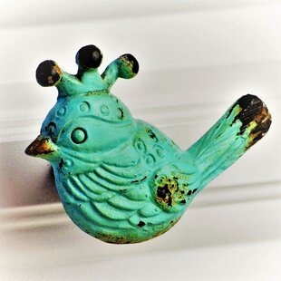 Handpainted Bird Novelty Knob (Set of 4)