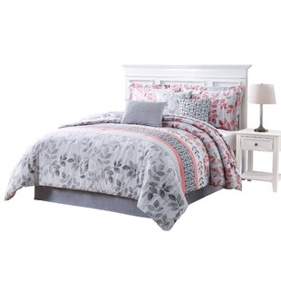 Credle 7 Piece Reversible Comforter Set