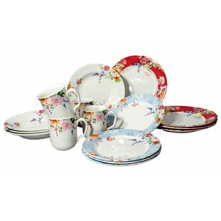 Royal Impression 16 Piece Dinnerware Set, Service for 4