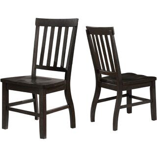 Alcorn Solid Wood Dining Chair (Set of 2) by One Allium Way SKU:EA291040 Order