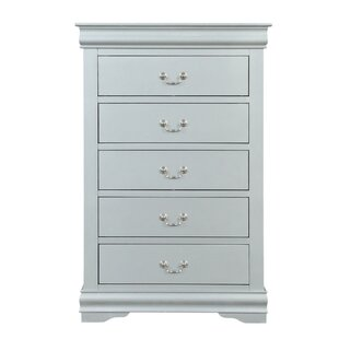 Petties Spacious Wooden 5 Drawer Chest