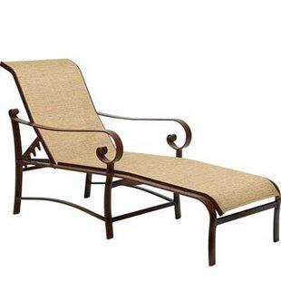 Belden Chaise Lounge by Woodard Bargain