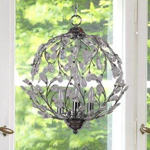 House of Hampton Meister 3-Light Globe Chandelier
