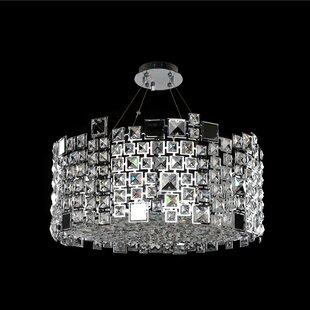 Dolo 8-Light Semi-Flush Mount by Allegri by Kalco Lighting