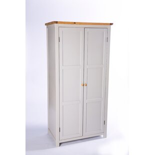 Estep 2 Door Wardrobe By Brambly Cottage