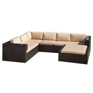 Home Loft Concepts Brooklyn 5 Piece Sunbrella Sectional Set with Cushions