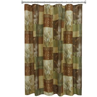 Pine Cone Shower Curtain By Bacova Guild