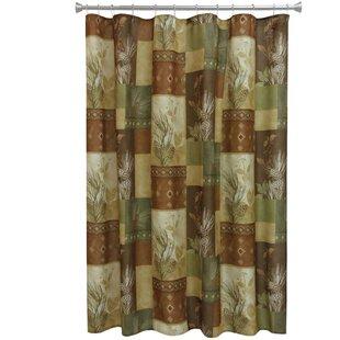 Compare Pine Cone Shower Curtain ByBacova Guild