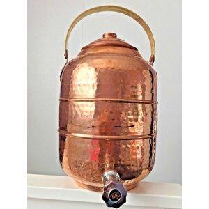 Merl Copper Beverage Dispenser