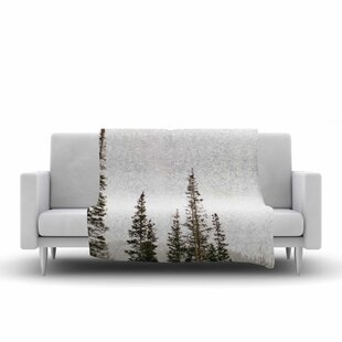Top Of The Mountain Photography Fleece Blanket ByEast Urban Home