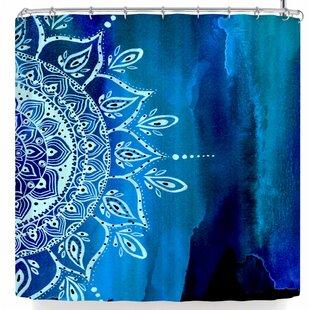 East Urban Home Li Zamperini At Night Mandala Shower Curtain