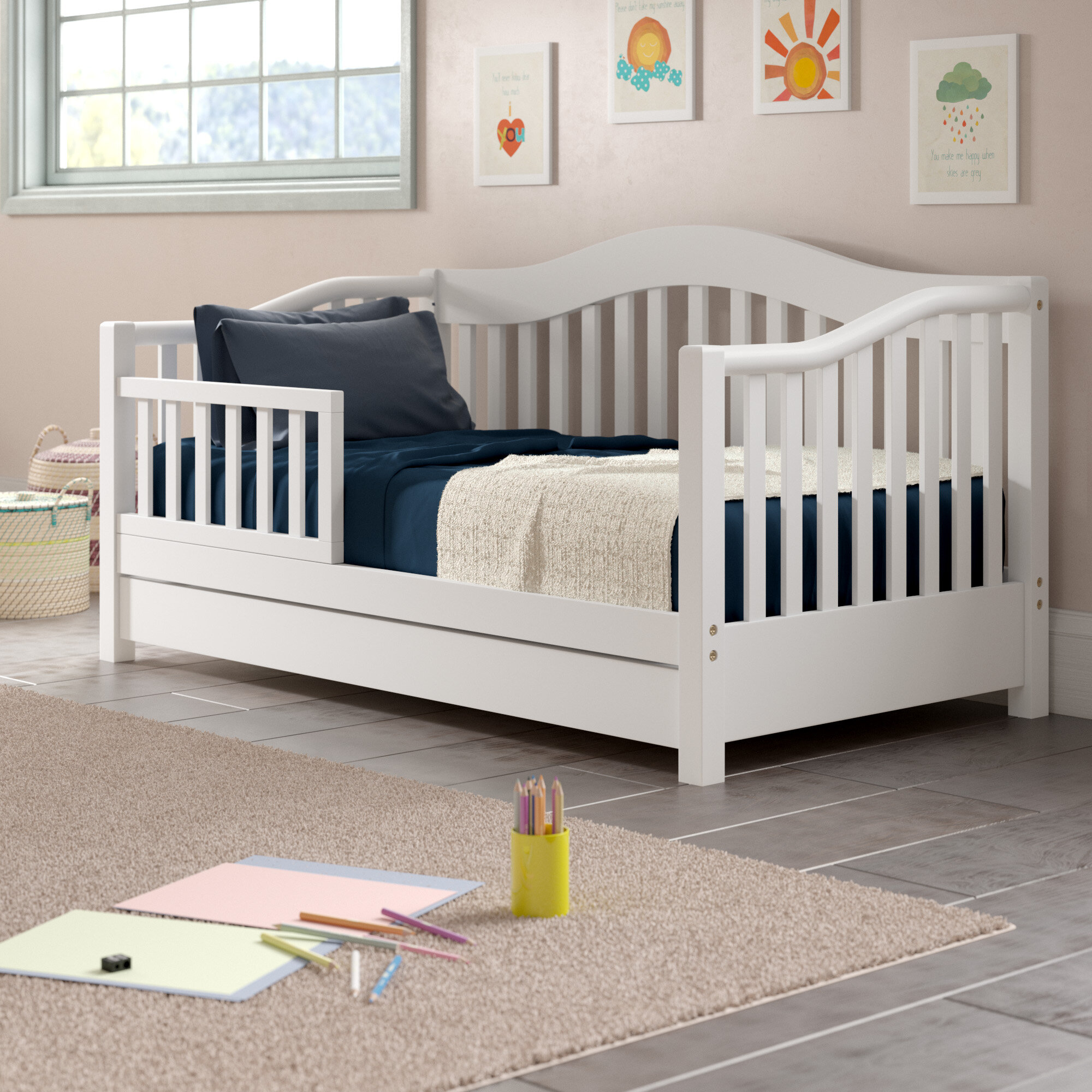 Clarkson Toddler Bed With Storage