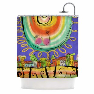 Carina Povarchik Sun Single Shower Curtain