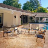 Harlem 10 Piece Rattan Sofa Seating Group with Cushions by Bayou Breeze