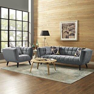 Seneca 2 Piece Living Room Set by Brayden Studio