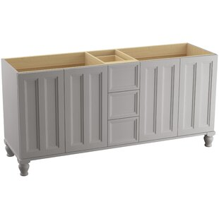 Damask? 72 Vanity with Furniture Legs, 4 Doors and 3 Drawers by Kohler