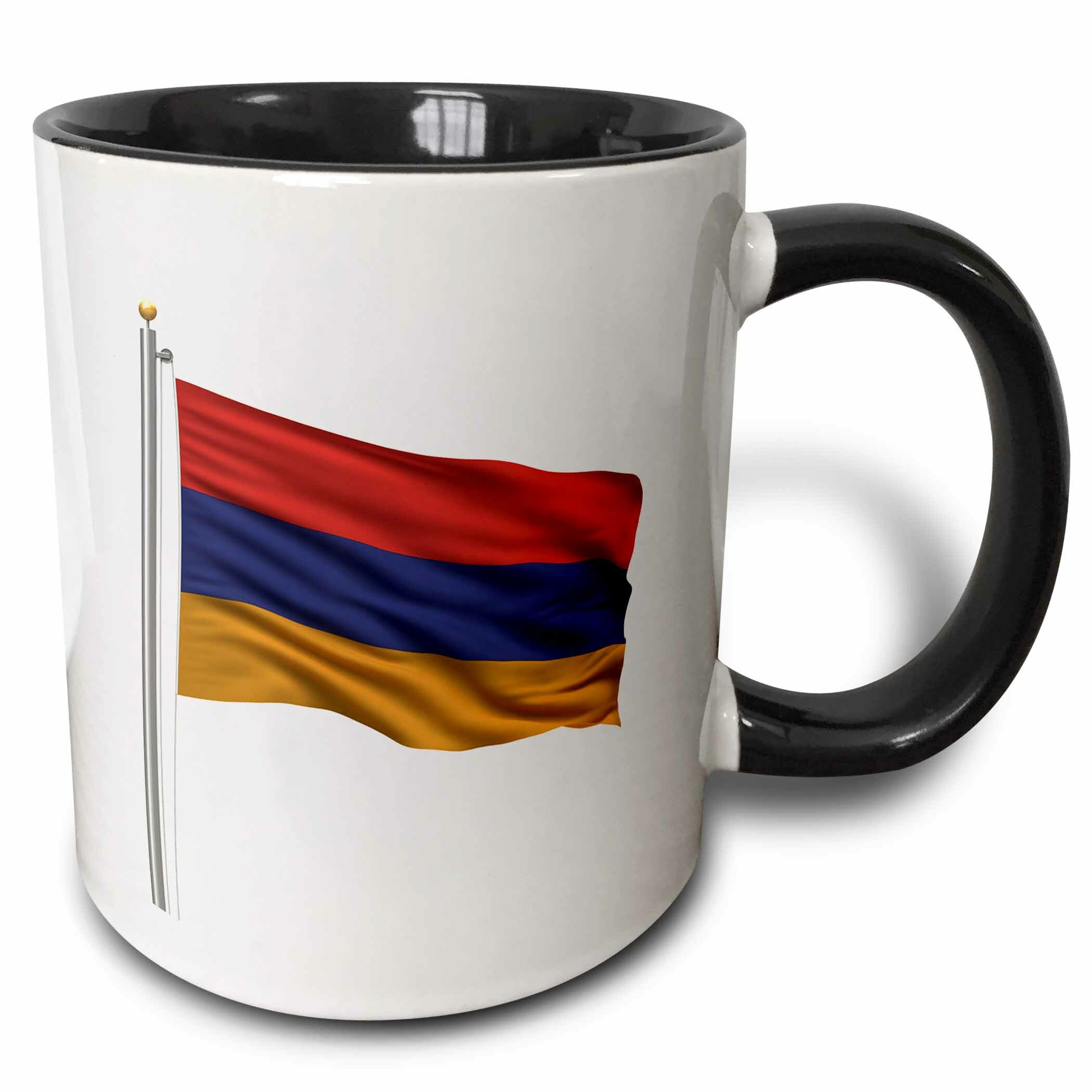 Kitchen Furniture Yerevan: East Urban Home Flag Of Armenia On A Flag Pole Over