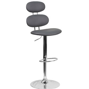 Norberg Adjustable Height Swivel Bar Stool