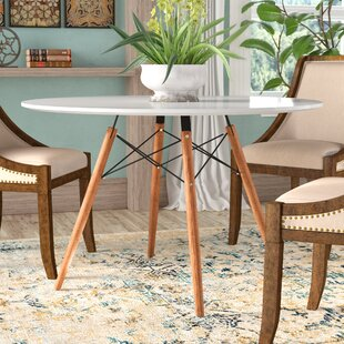 Mont Dining Table by Bungalow Rose Cool
