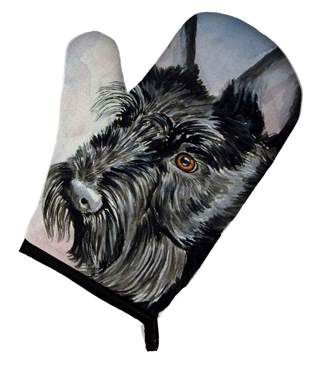 East Urban Home Scottish Terrier Oven Mitt Wayfair