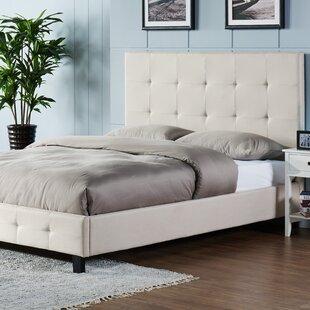 Tiara Upholstered Platform Bed