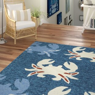 Sereno Handmade Navy Indoor/Outdoor Area Rug