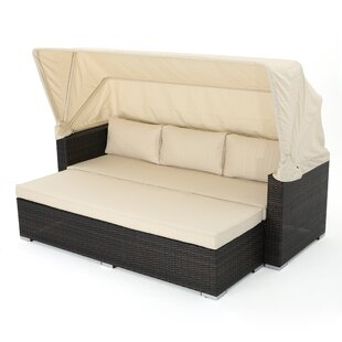 Lammers Patio Daybed With Cushions By Brayden Studio