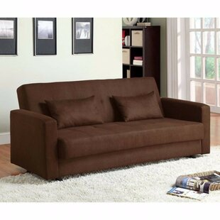 Garrow Microfiber Convertible Sofa