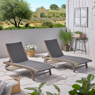 Cleghorn Reclining Chaise Lounge (Set of 2)