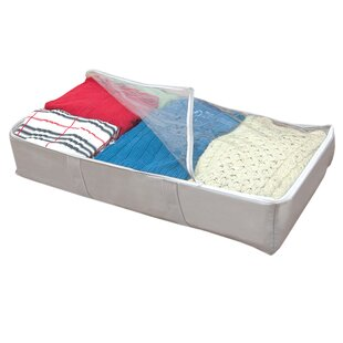 Compare prices Under The Bed Storage Bag By Rebrilliant