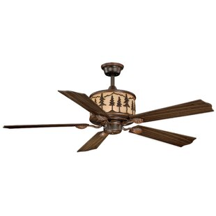 Buy luxury 56 Jennings 5-Blade Ceiling Fan with Remote By Loon Peak