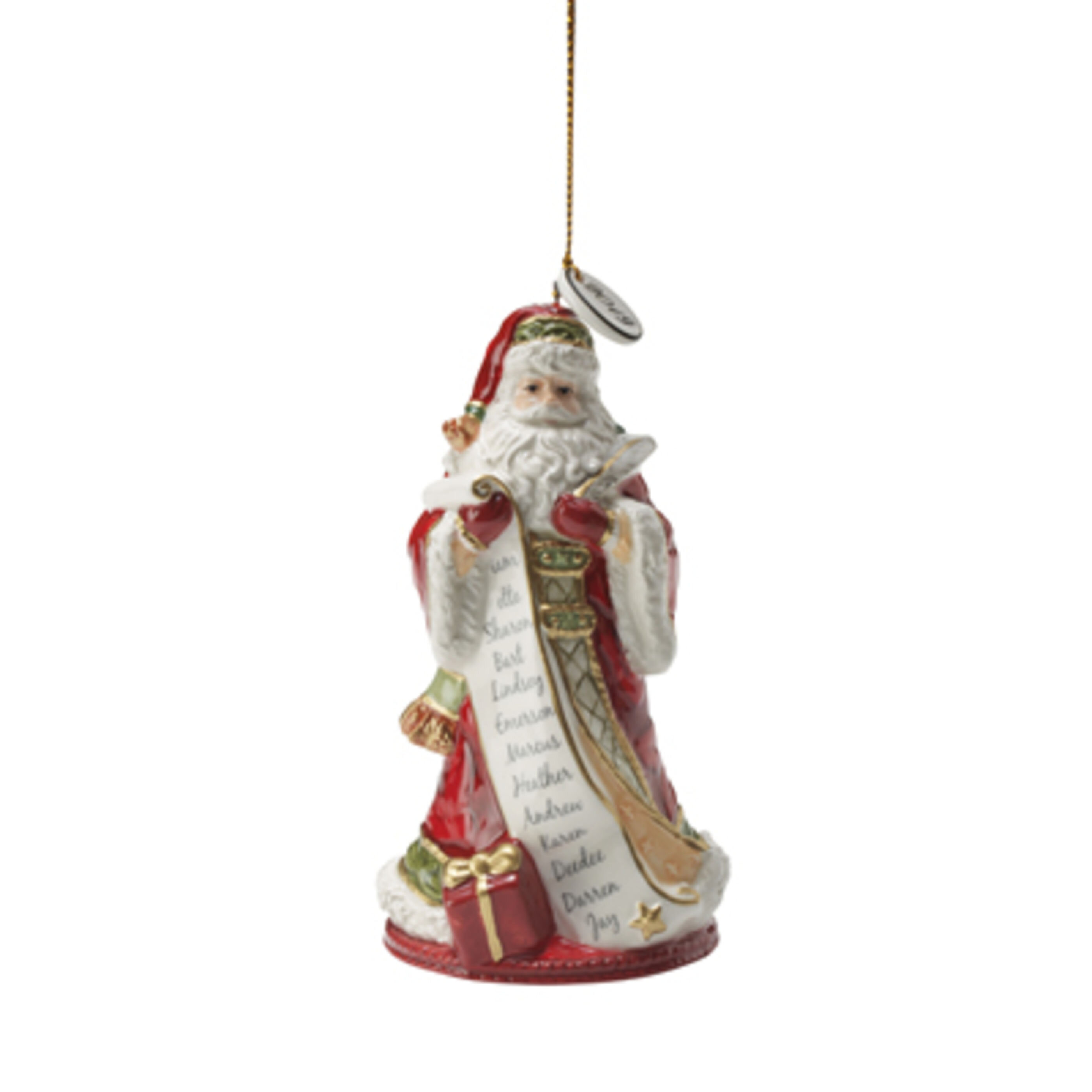 Fitz And Floyd Holiday Home Dated 2020 Bell Hanging Figurine Ornament Reviews Wayfair